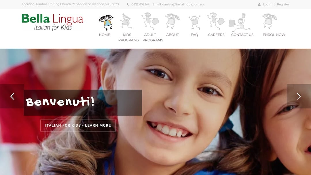 Bella Lingua - Italian for Kids