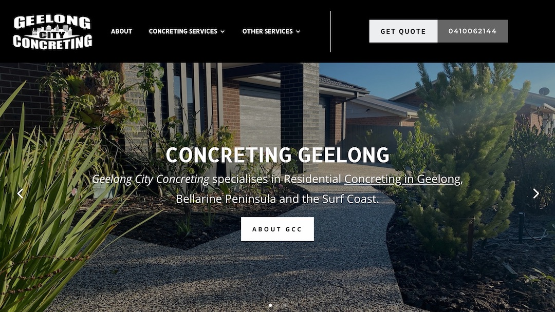Geelong City Concreting - GCC