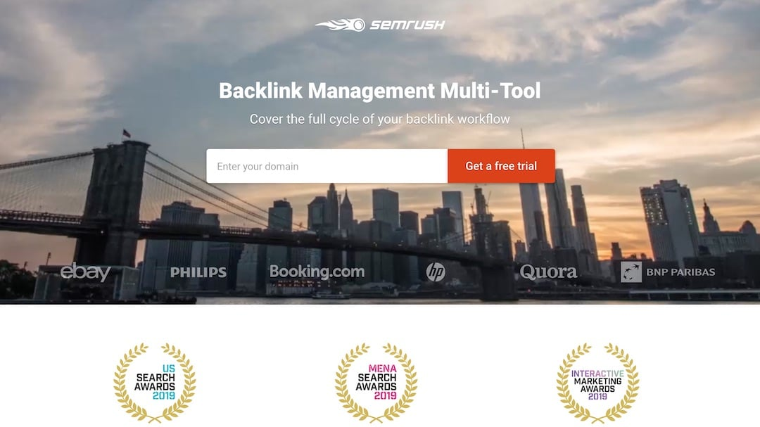 SEMrush - Backlink Software