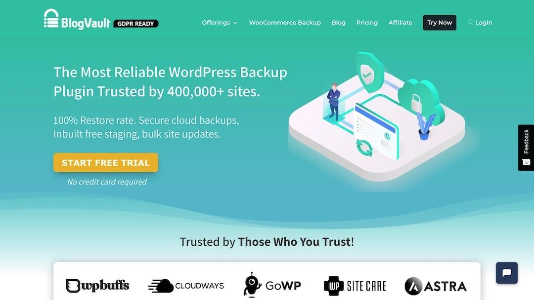 BlogVault - Best Backup Plugin