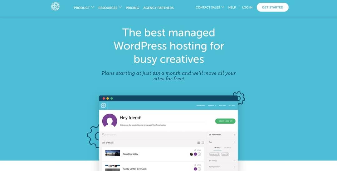 Managed WordPress Hosting - FlyWheel