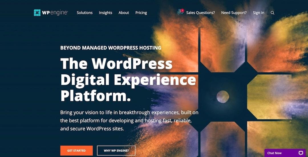 Managed WordPress Hosting - WP Engine
