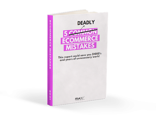 5 Deadly eCommerce Mistakes