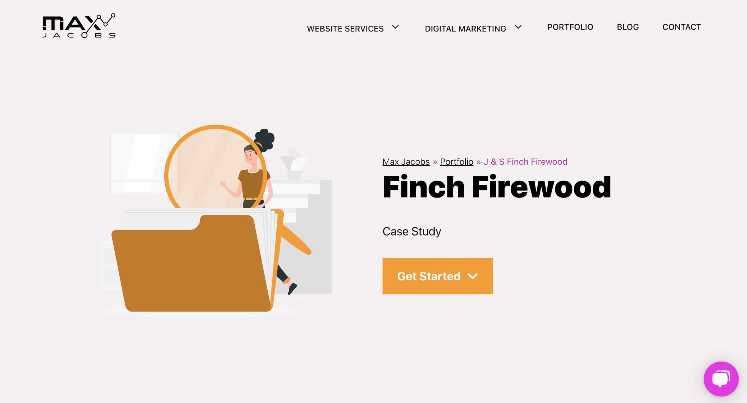 Finch Firewood Case Study - Max Jacobs