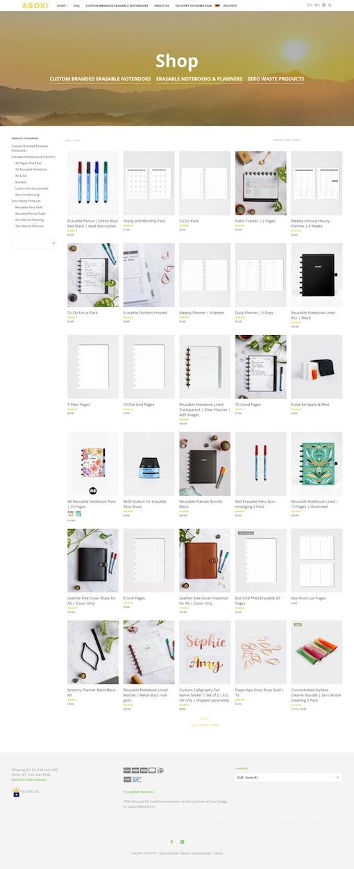 Max Jacobs Portfolio - Asoki Shop
