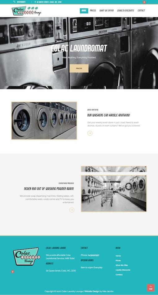 Max Jacobs Portfolio - Colac Laundromat