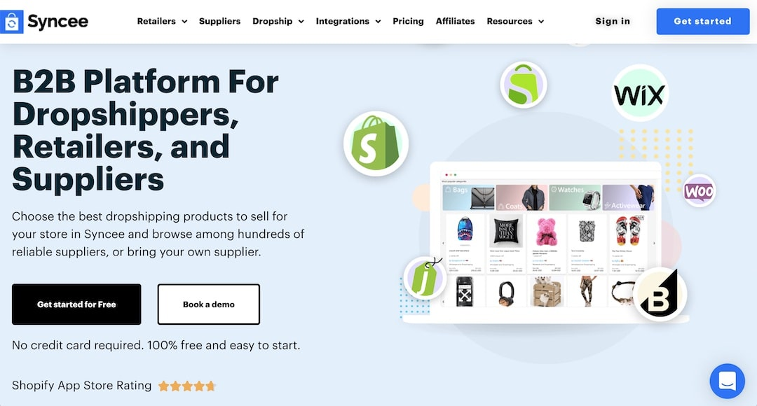 Using Shopify and Syncee for dropshipping