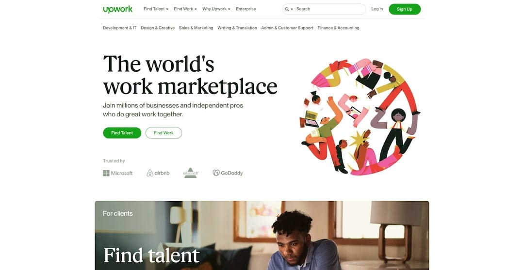 Finding graphic designers on a budget through Upwork