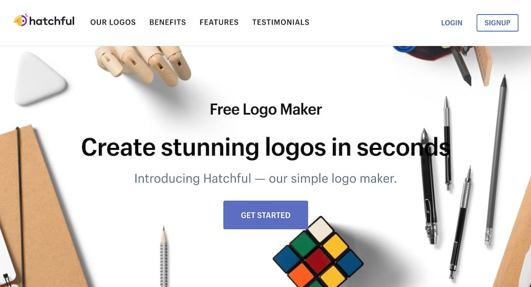 Free logo maker from Hatchful